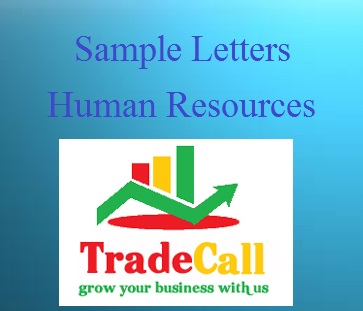 Sample email and letters of hr department in palwal india hr department letter templates and sample emails of er deptt in india spiritdancerdesigns Gallery